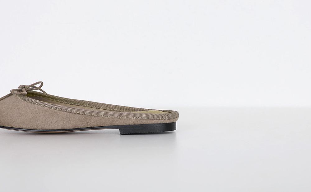 ribbon flat sllipper (4colors)