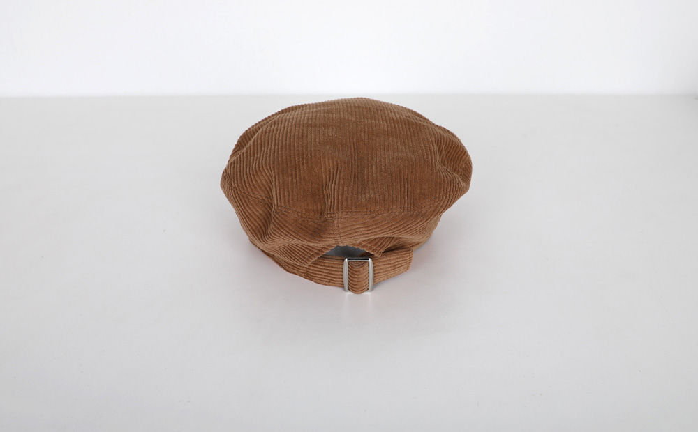 line corduroy beret (4colors)