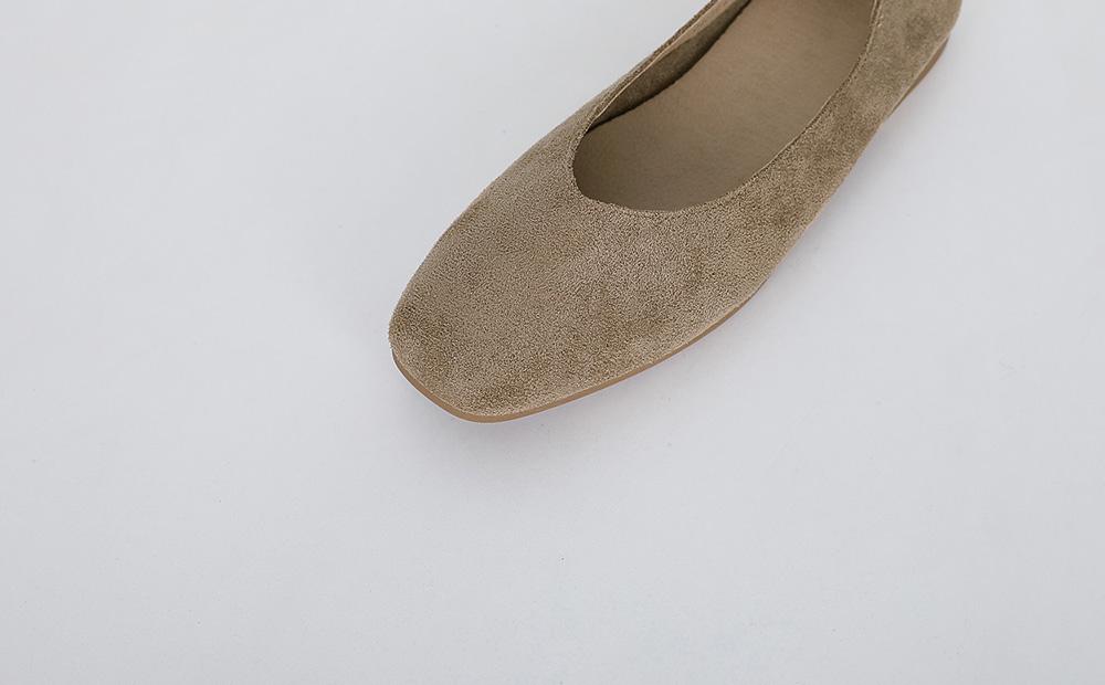 carrot flat shoes (3colors)