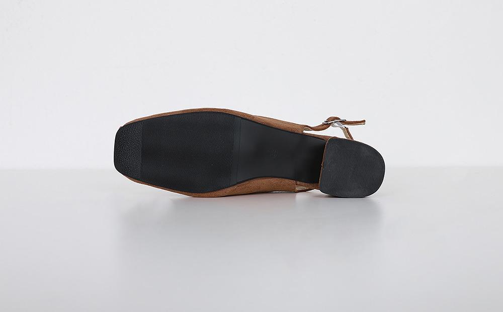 easy slingback shoes (3colors)