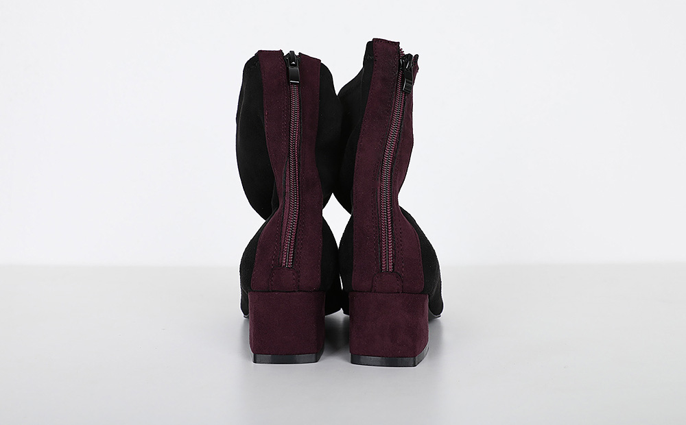 pointed boots heel (2colors)