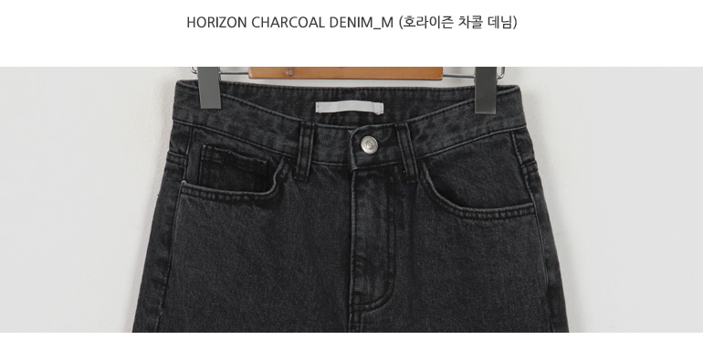 Horizon charcoal denim_M (size : S,M)