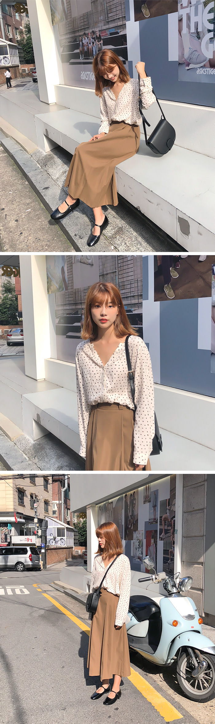 Secret open rayon blouse_H (size : free)