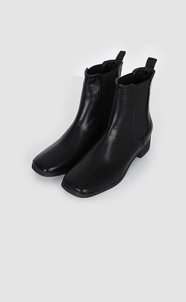 slick ankle boots (3colors)