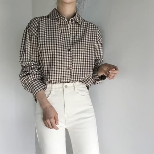 Sheer Rouge Check Shirt