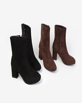 Teres Suede Ankle Boots - 2color