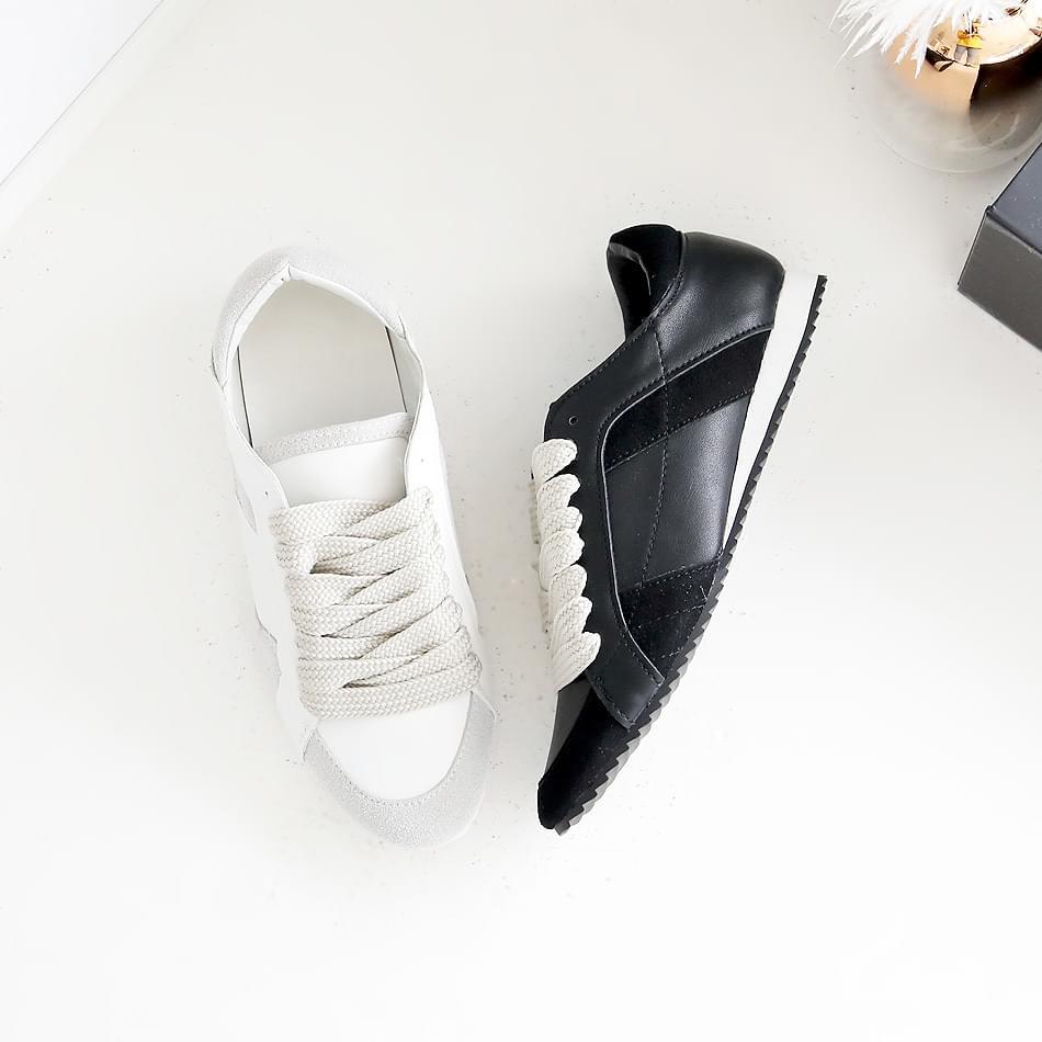 Sewing sock height sneaker 3cm