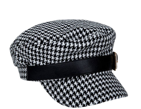 leather buckle newsboy cap (2 type)