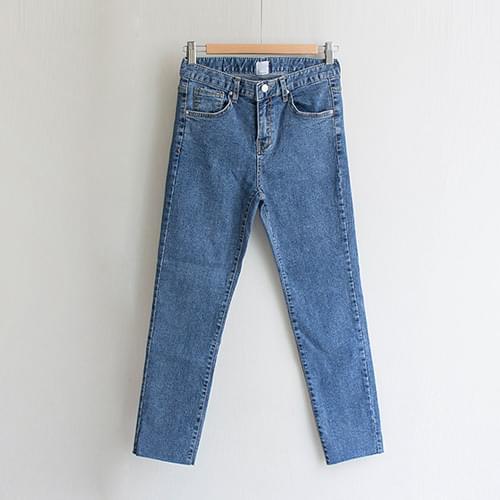 Mind Cutting Slim Denim Pants