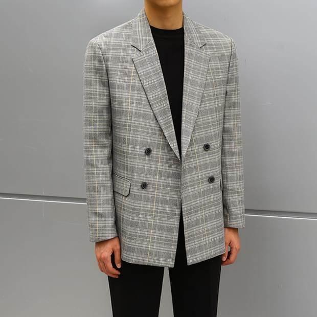 Marlon Double Check Jacket