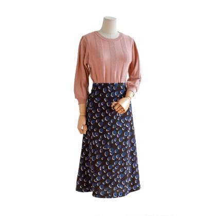 Mambo pattern skirt