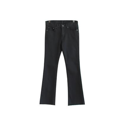 Rank semi-boots cut pants