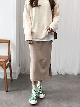 Top Steady Cotton Skirt