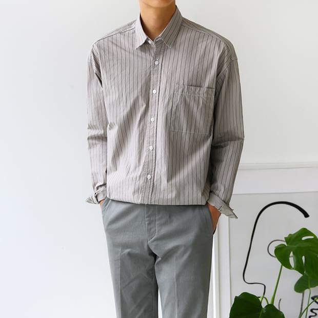 Breeze O Buffet Striped Shirt