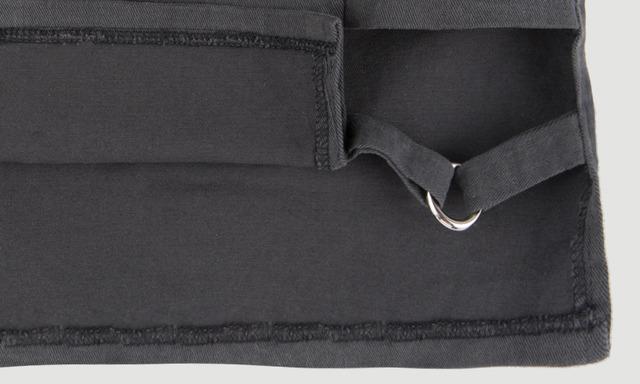 Garter point skirt