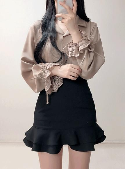 ♥ Sorry Lace color blouse