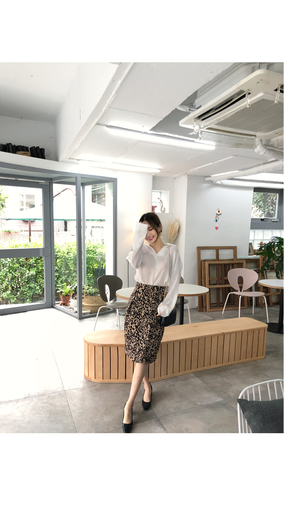 Flowing touch blouse