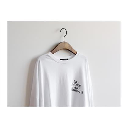 Friends slit long shirt