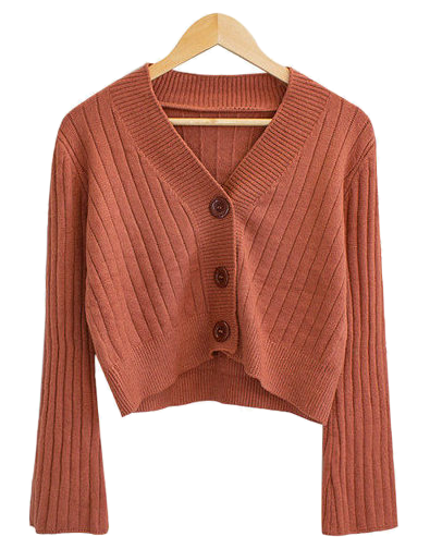 Bebe Gorge knit short cardigan
