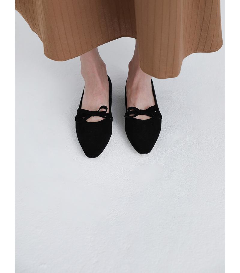sydney ribbon flat shoes (4colors)
