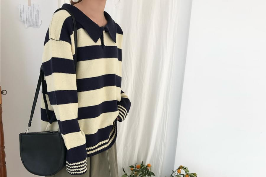 Kara Stripe Knit