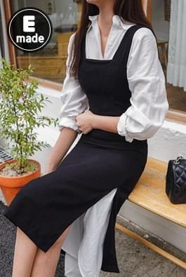 Black Square Dress