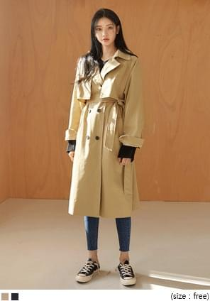 NORMAL DOUBLE TRENCH COAT