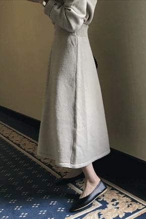 French cardigan + long skirt set