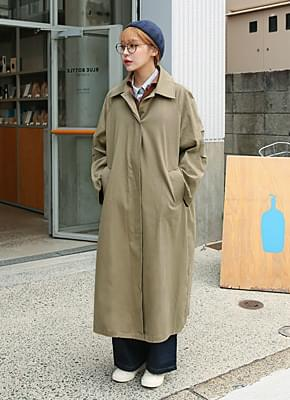 Danish single trench coat