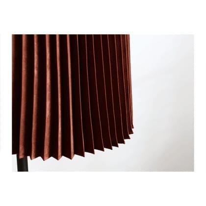 Satin Dotom pleated skirt