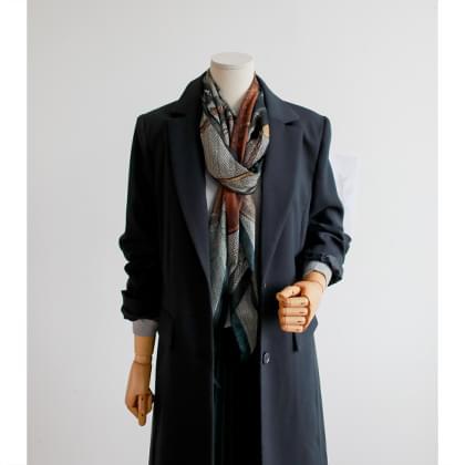Beryl Long Jacket
