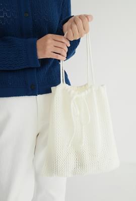 Cute knot knit bag