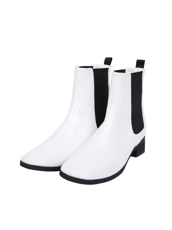 square chelsea boots (2 color)