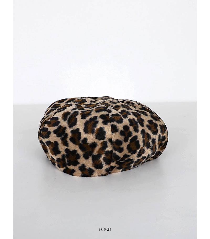 big leopard beret