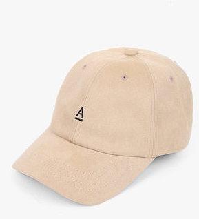 suede vintage cap