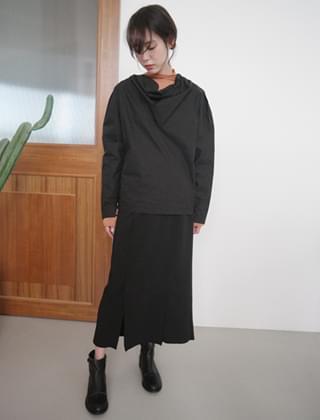modern slit skirt (2colors)