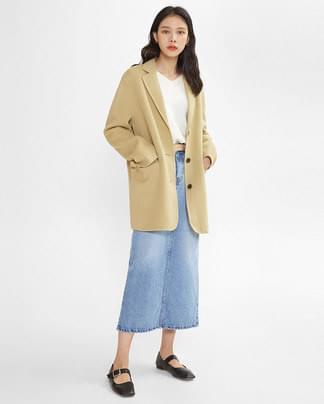 loose half handmade jacket