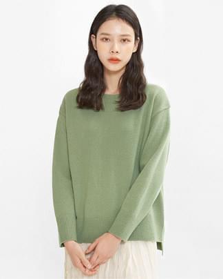 sunday round wool knit