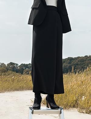wide long skirt pants