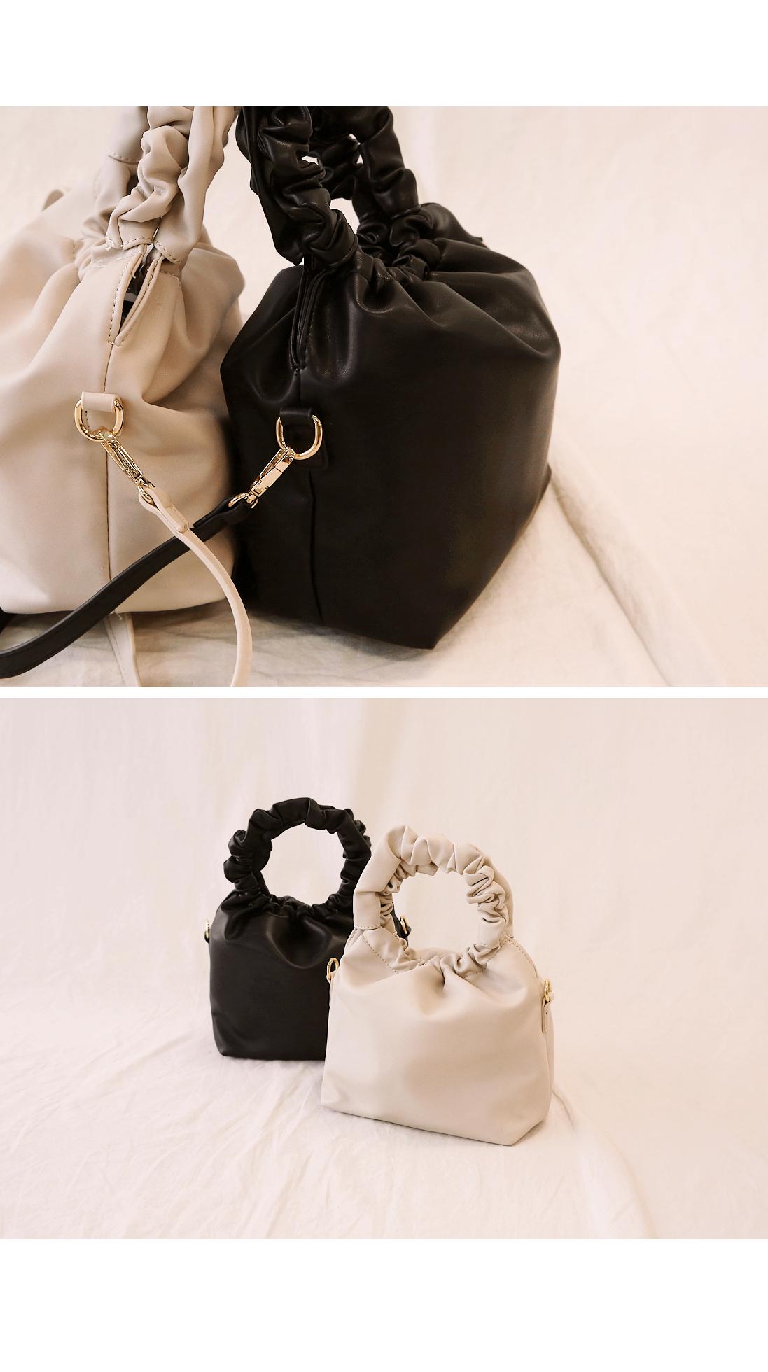[BAG] WRINKLE SOFT LEATHER BAG