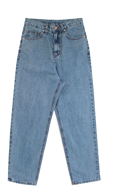 Forward-semi-exhaust pants
