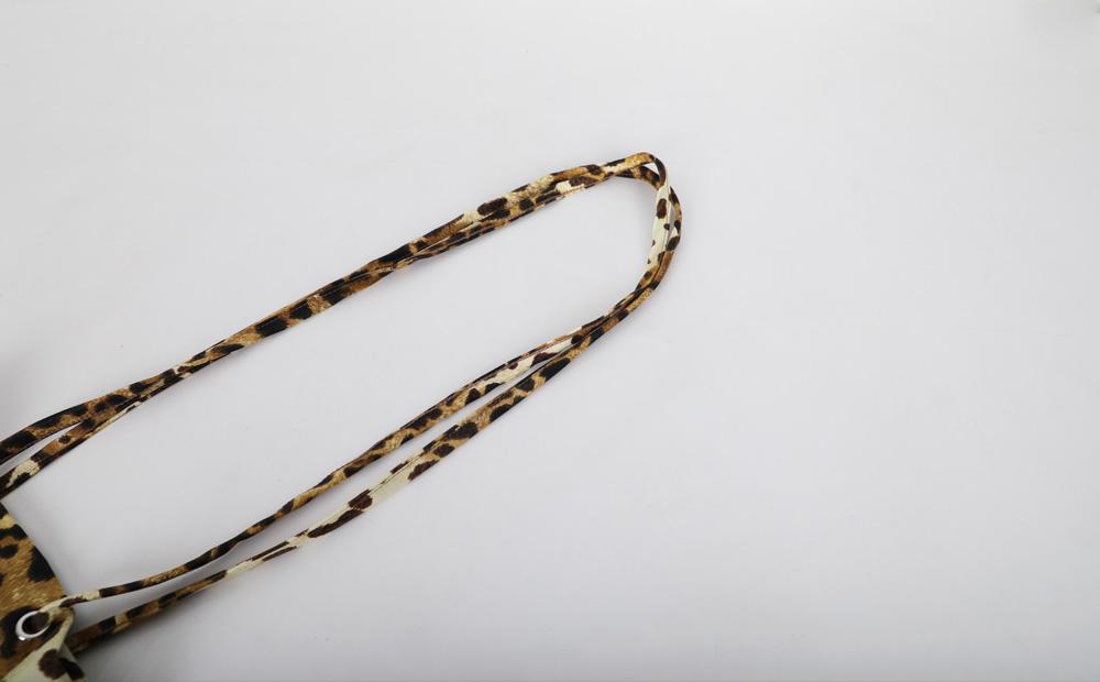 leopard shoulder bag (2colors)