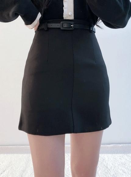 ♥ TheNon Basic Sk (Beige, Black)