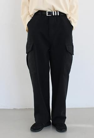 Pocket cargo pants (2colors)