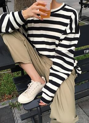 Bold Stripe Knit