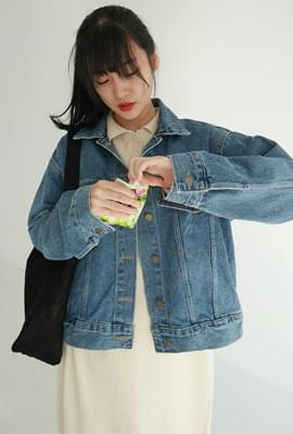 Unisex casual denim jacket