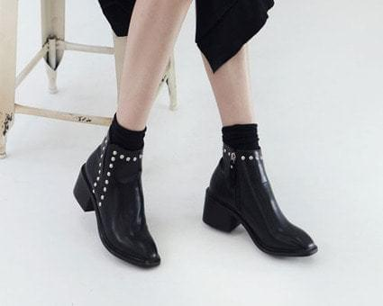 Brennan Stud Ankle Boots