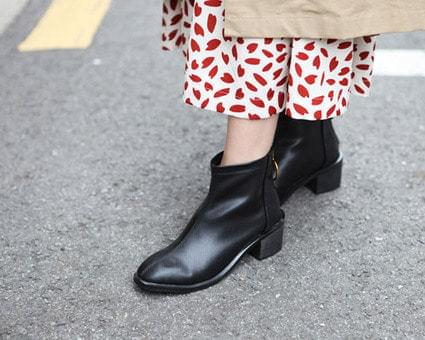 Brianna Ring Decorate Ankle Boots