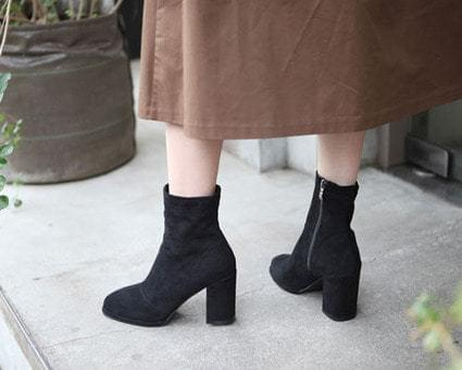 Lux Tongue Ankle Boots