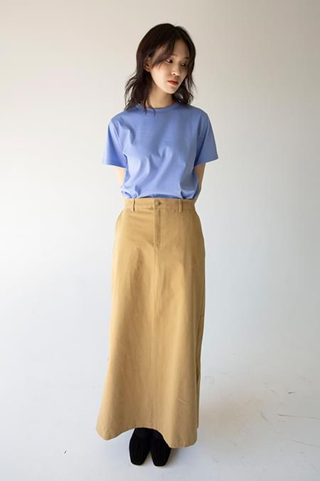 cona long skirt (2colors)